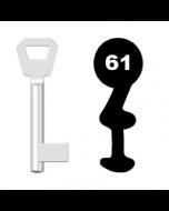 Buntbartschlüssel Fliether Nr. 61
