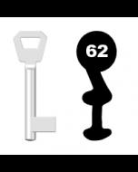 Buntbartschlüssel Fliether Nr. 62