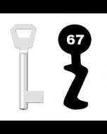 Buntbartschlüssel Fliether Nr. 67