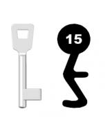 Buntbartschlüssel Schulte Schlagbaum Nr. 15