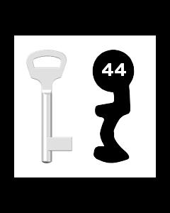 Buntbartschlüssel BKS Nr. 44