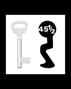 Buntbartschlüssel BKS Nr. 45 1/2