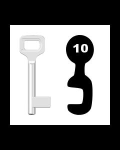 Buntbartschlüssel Dörrenhaus Nr. 10