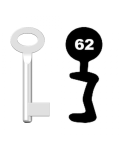 Buntbartschlüssel Standard Nr. 62
