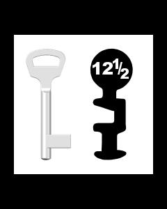 Buntbartschlüssel BKS Nr. 12 1/2