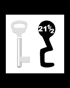 Buntbartschlüssel BKS Nr. 21 1/2