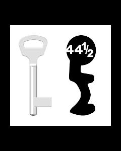 Buntbartschlüssel BKS Nr. 44 1/2