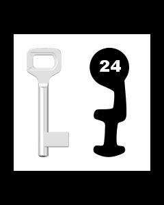 Buntbartschlüssel Dörrenhaus Nr. 24