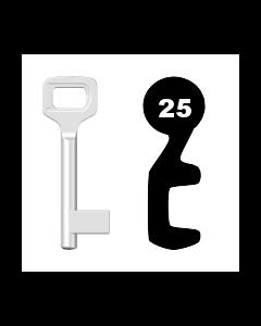 Buntbartschlüssel Dörrenhaus Nr. 25