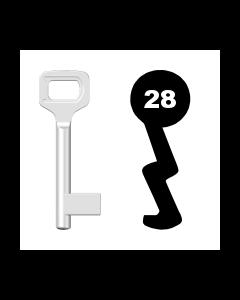 Buntbartschlüssel Dörrenhaus Nr. 28