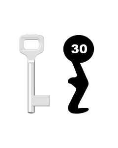 Buntbartschlüssel Dörrenhaus Nr. 30