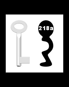 Buntbartschlüssel Standard Nr. 218A