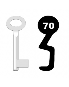 Buntbartschlüssel Standard Nr. 70