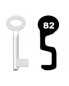Buntbartschlüssel Standard Nr. 82