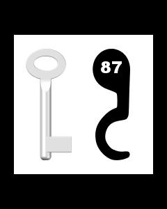 Buntbartschlüssel Standard Nr. 87